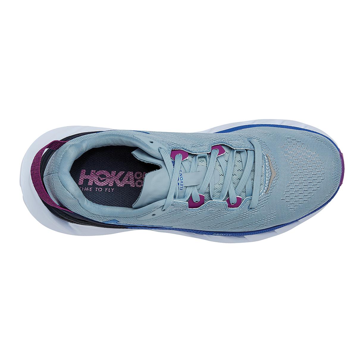 Women's Hoka One One Elevon 2 Running Shoe - Color: Ballad Blue - Size: 5 - Width: Regular, Ballad Blue, large, image 5