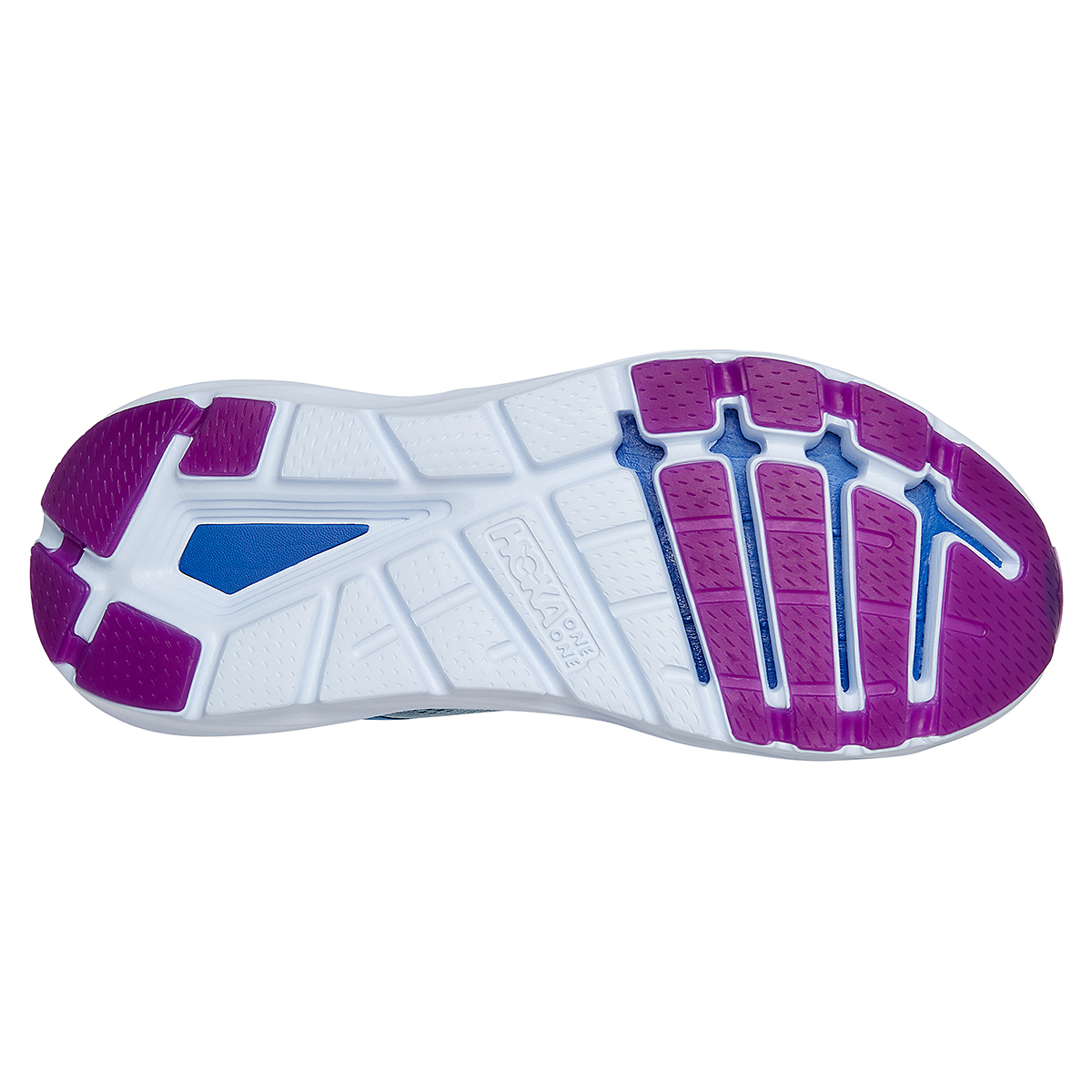 Women's Hoka One One Elevon 2 Running Shoe - Color: Ballad Blue - Size: 5 - Width: Regular, Ballad Blue, large, image 6