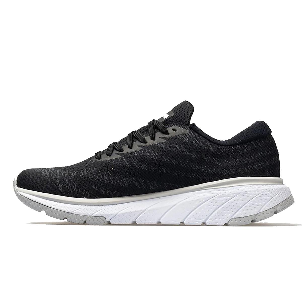 Men's Hoka One One Cavu 3 Running Shoe - Color: Black/White - Size: 7 - Width: Regular, Black/White, large, image 2
