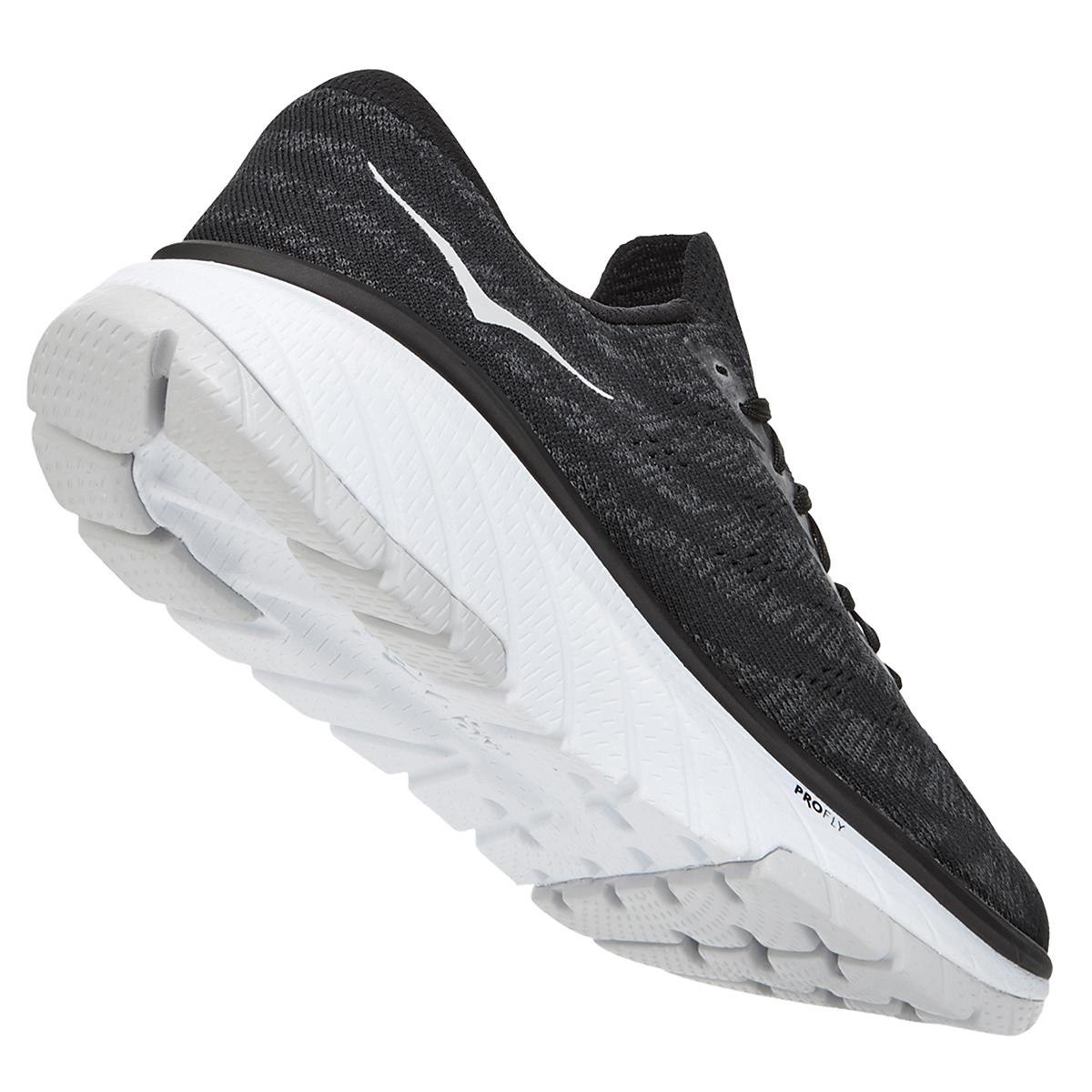 Men's Hoka One One Cavu 3 Running Shoe - Color: Black/White - Size: 7 - Width: Regular, Black/White, large, image 4