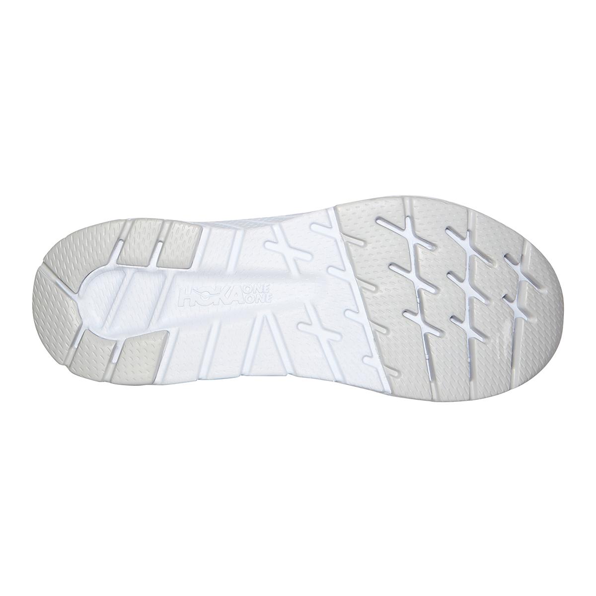 Men's Hoka One One Cavu 3 Running Shoe - Color: Black/White - Size: 7 - Width: Regular, Black/White, large, image 6