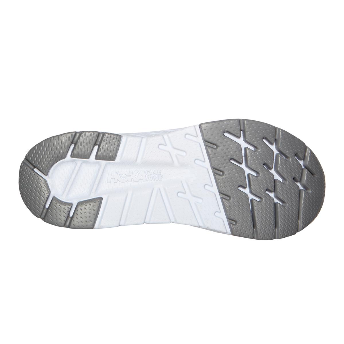Men's Hoka One One Cavu 3 Running Shoe - Color: Mandarin Red/White - Size: 7 - Width: Regular, Mandarin Red/White, large, image 4