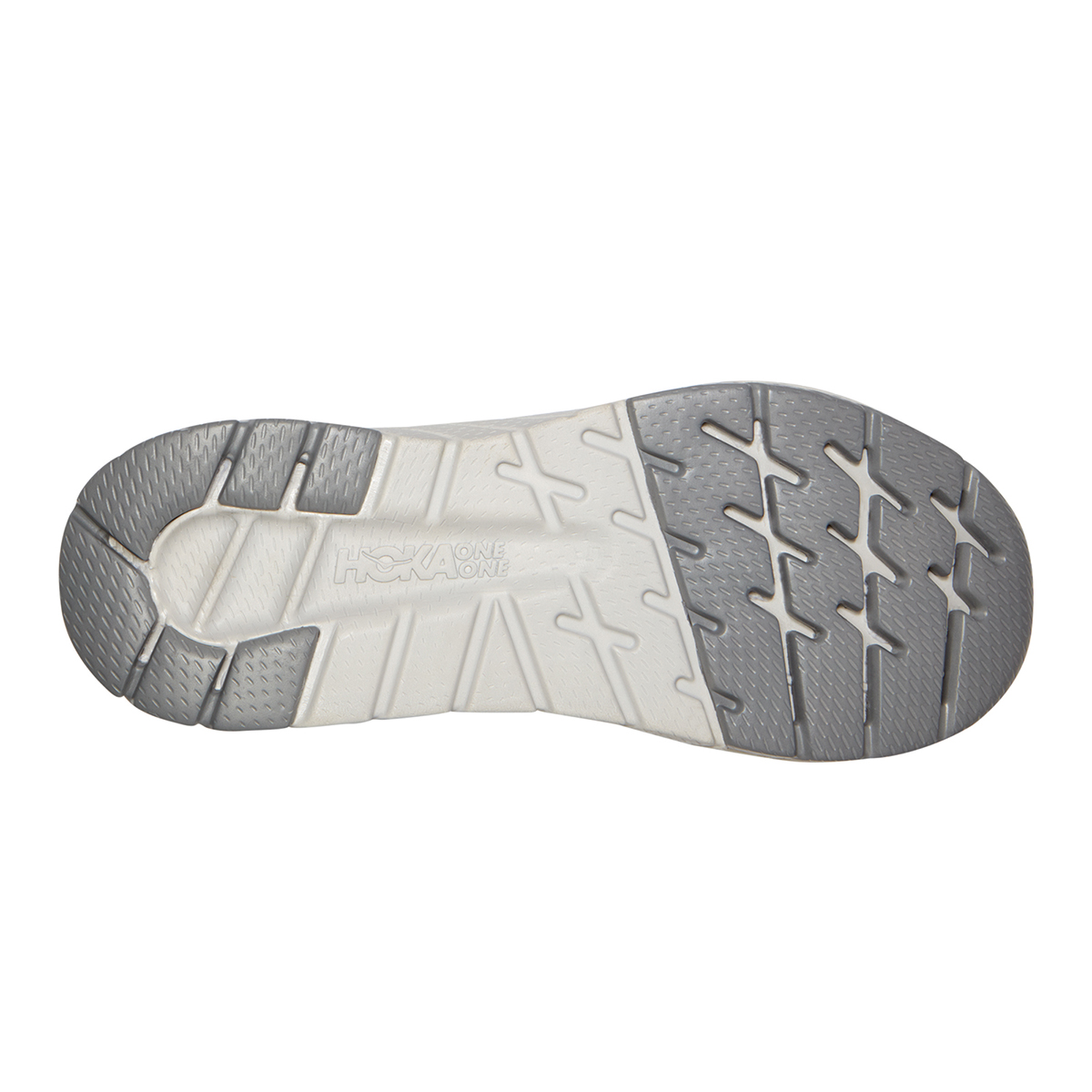 Men's Hoka One One Cavu 3 Running Shoe - Color: White/Nimbus Cloud - Size: 7 - Width: Regular, White/Nimbus Cloud, large, image 4