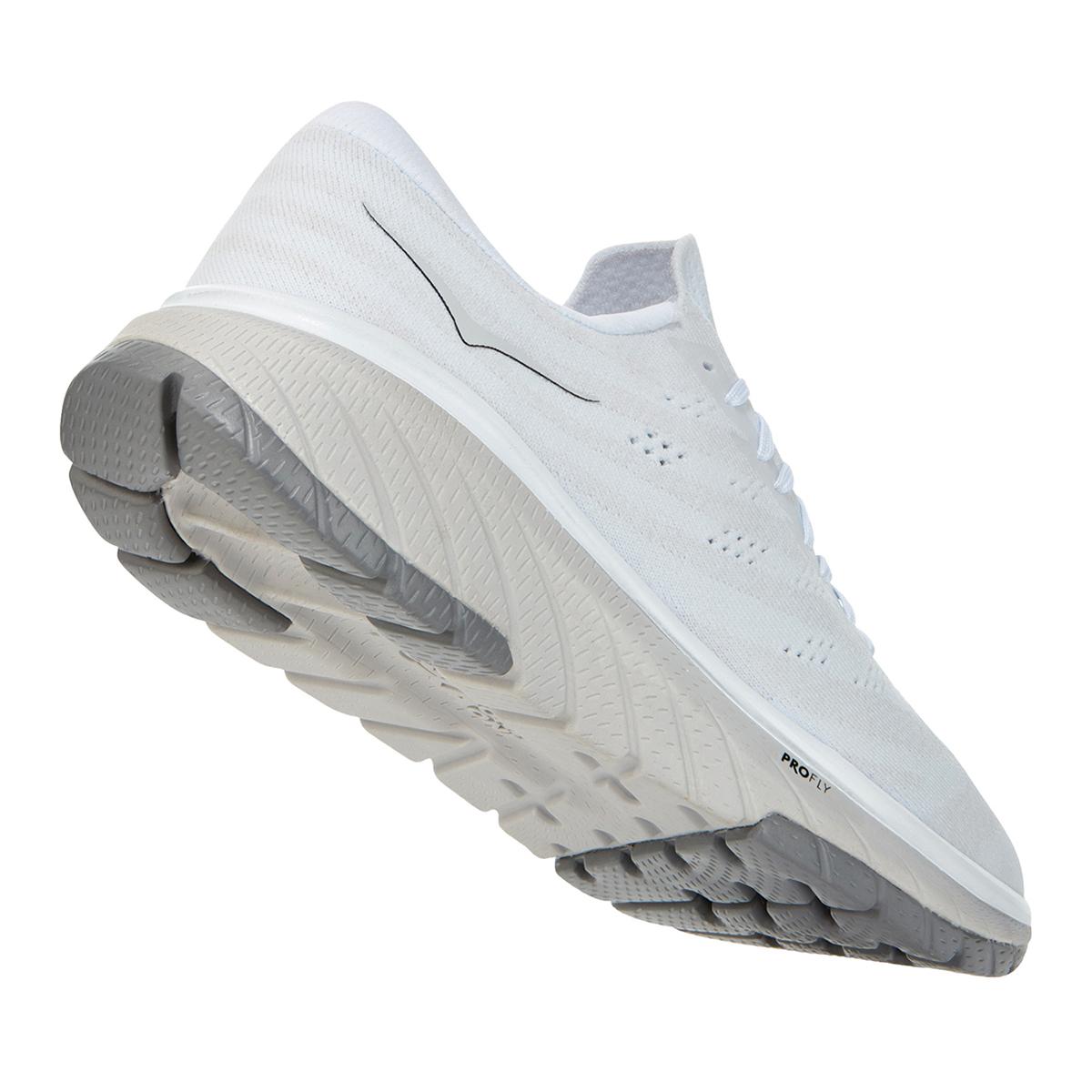 Men's Hoka One One Cavu 3 Running Shoe - Color: White/Nimbus Cloud - Size: 7 - Width: Regular, White/Nimbus Cloud, large, image 6