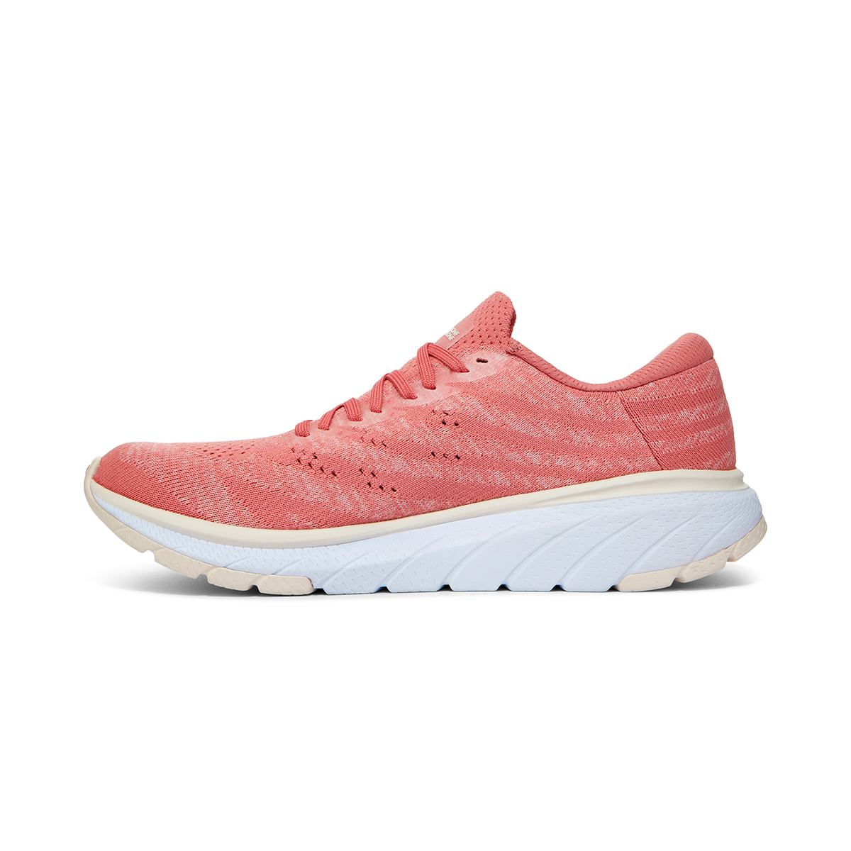 Women's Hoka One One Cavu 3 Running Shoe - Color: Lantana/Eggnog - Size: 5 - Width: Regular, Lantana/Eggnog, large, image 2