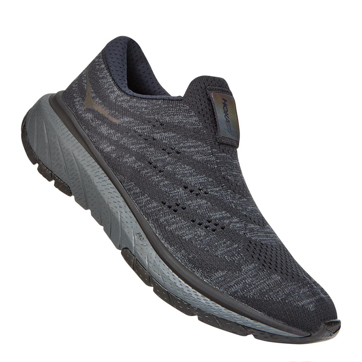 Women's Hoka One One Cavu 3 Slip Running Shoe - Color: Black/Dark Shadow - Size: 5 - Width: Regular, Black/Dark Shadow, large, image 5