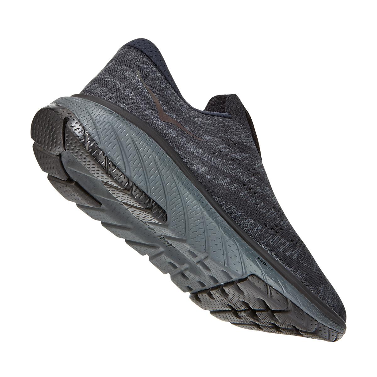 Women's Hoka One One Cavu 3 Slip Running Shoe - Color: Black/Dark Shadow - Size: 5 - Width: Regular, Black/Dark Shadow, large, image 6