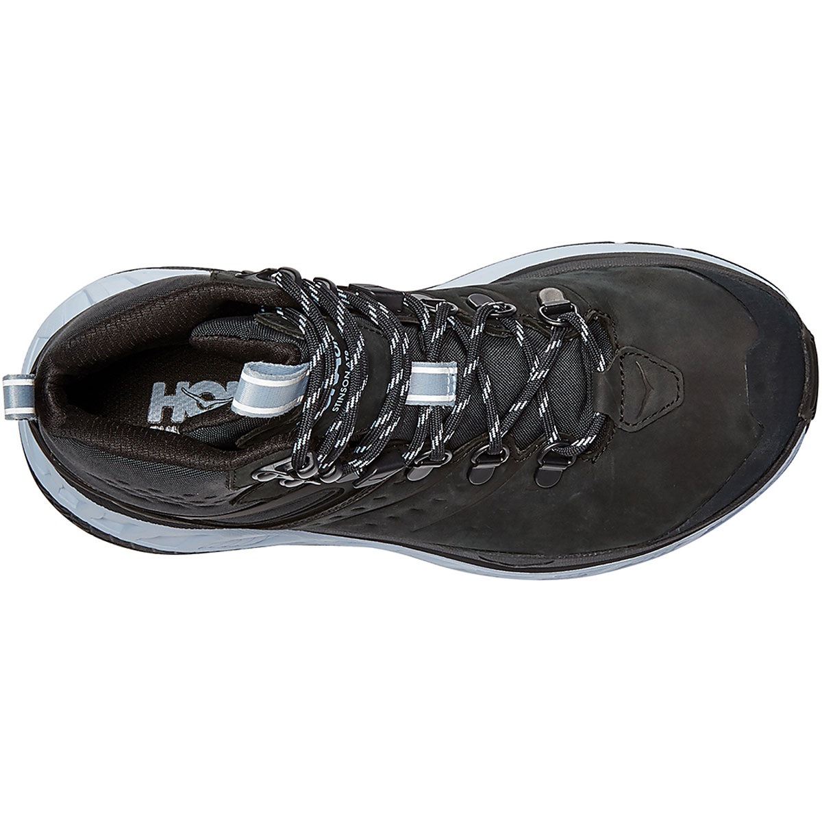 Women's Hoka One One Stinson Mid Gore-Tex Trail Running Shoe - Color: Anthracite/Heather - Size: 5 - Width: Regular, Anthracite/Heather, large, image 5