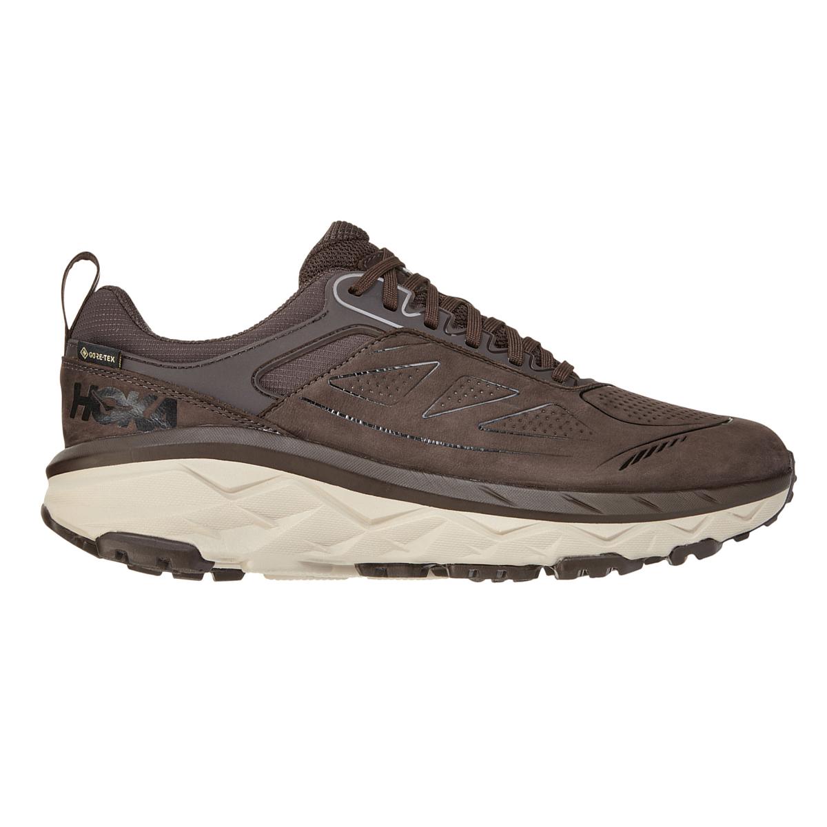 Men's Hoka One One Challenger Low Gore-Tex Trail Running Shoe - Color: Demitasse - Size: 7 - Width: Regular, Demitasse, large, image 1