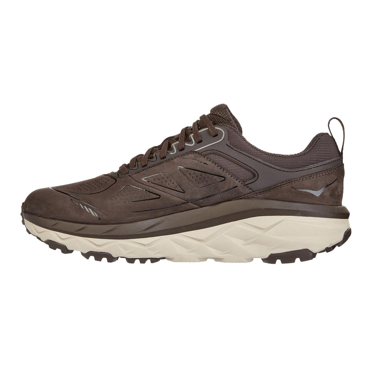 Men's Hoka One One Challenger Low Gore-Tex Trail Running Shoe - Color: Demitasse - Size: 7 - Width: Regular, Demitasse, large, image 2