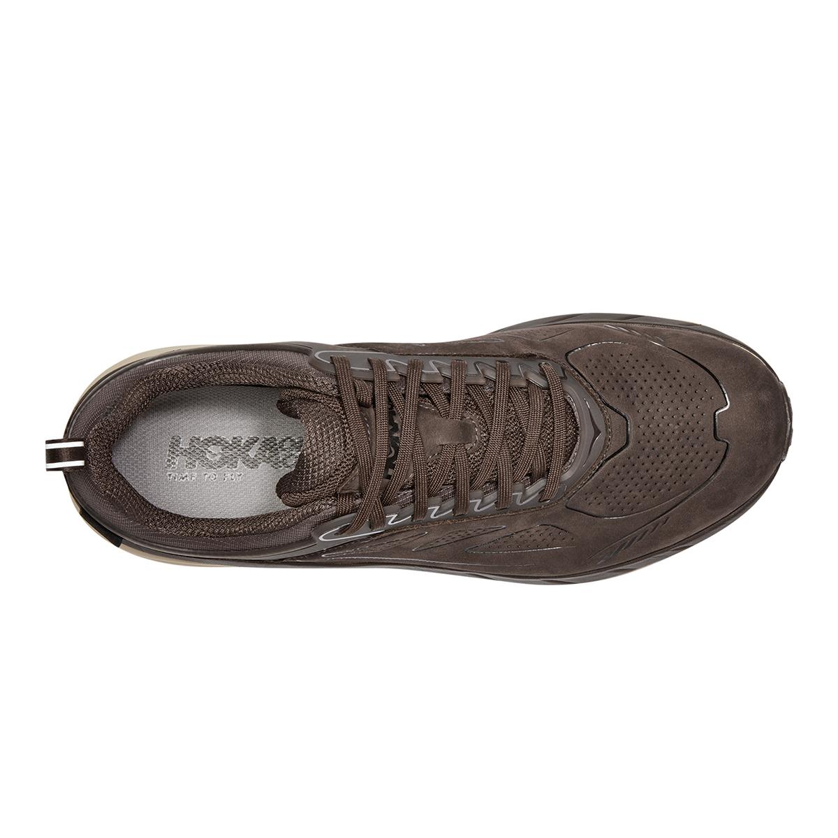 Men's Hoka One One Challenger Low Gore-Tex Trail Running Shoe - Color: Demitasse - Size: 7 - Width: Regular, Demitasse, large, image 3