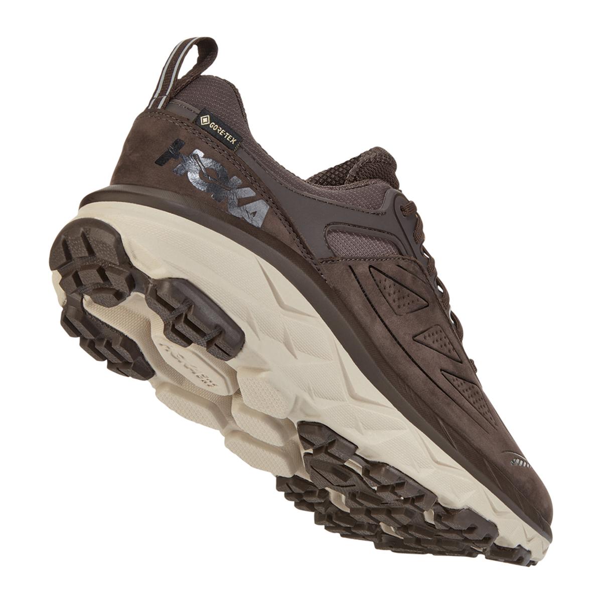Men's Hoka One One Challenger Low Gore-Tex Trail Running Shoe - Color: Demitasse - Size: 7 - Width: Regular, Demitasse, large, image 6