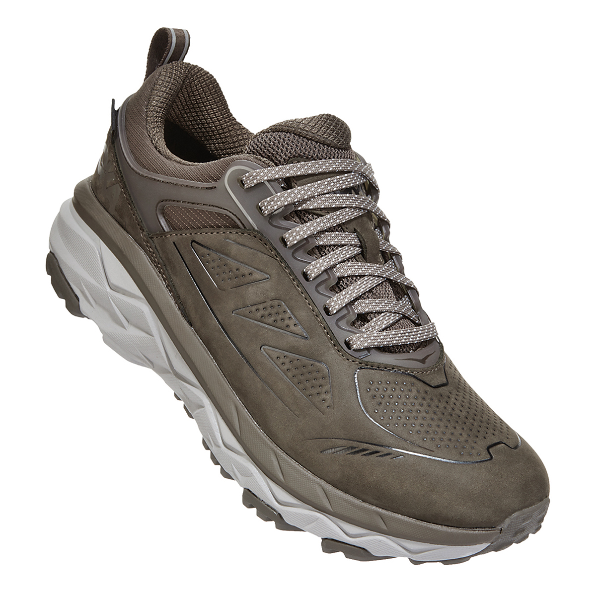 Women's Hoka One One Challenger Low Gore-Tex Trail Running Shoe - Color: Major Brown/Heather - Size: 5 - Width: Regular, Major Brown/Heather, large, image 2