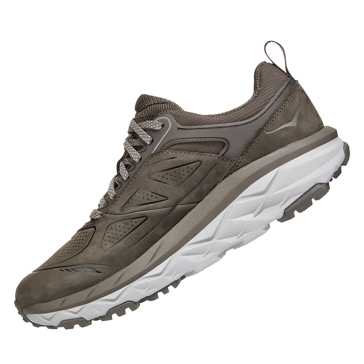 Women's Hoka One One Challenger Low Gore-Tex Trail Running Shoe - Color: Major Brown/Heather - Size: 5 - Width: Regular, Major Brown/Heather, large, image 4