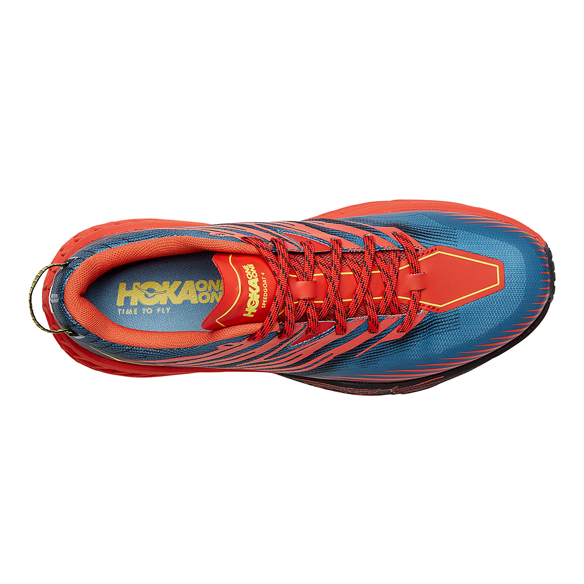 Men's Hoka One One Speedgoat 4 Trail Running Shoe - Color: Fiesta/Provincial Blue - Size: 7 - Width: Regular, Fiesta/Provincial Blue, large, image 3