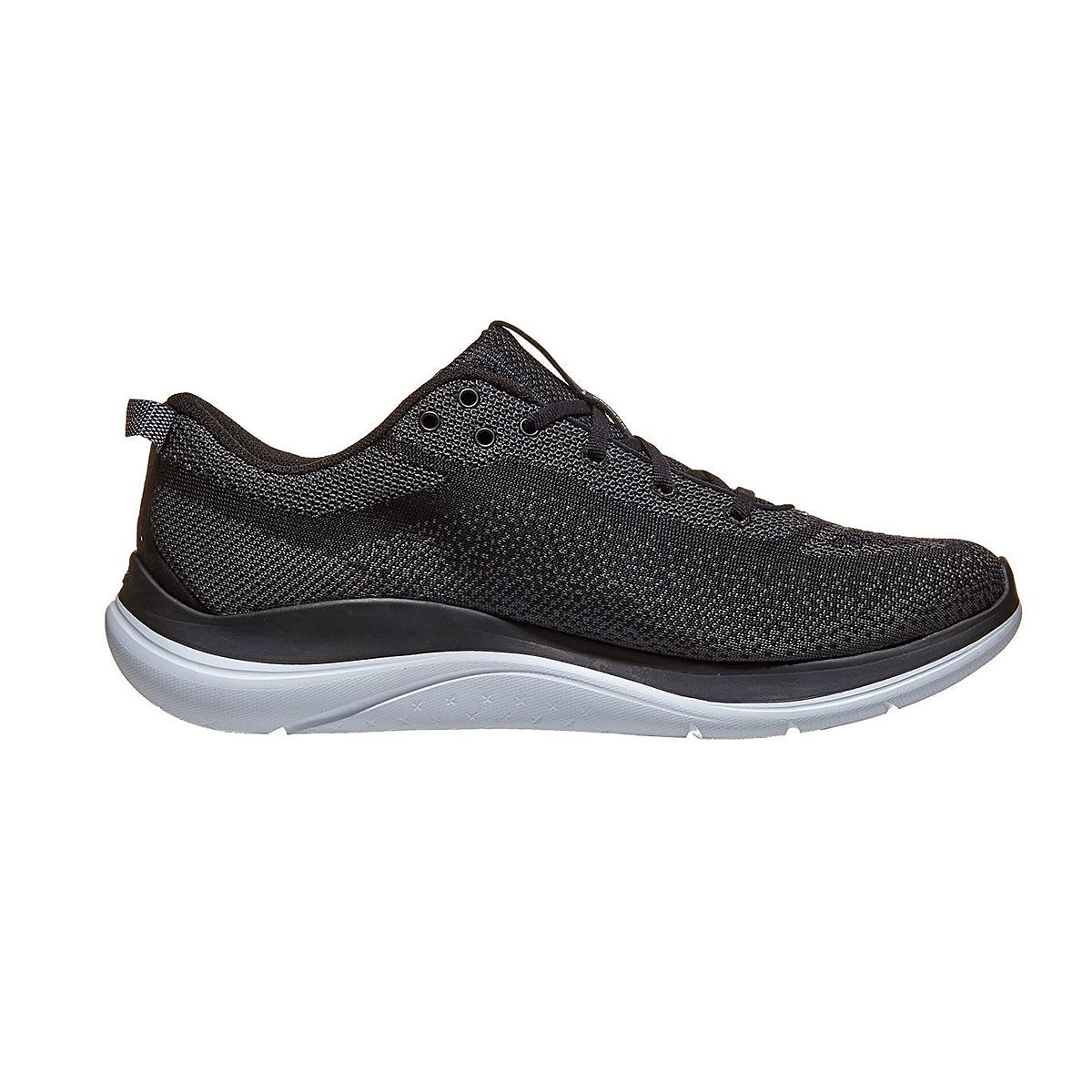 Men's Hoka One One Hupana Flow Running Shoe - Color: Black/ Dark Shadow - Size: 7 - Width: Wide, Black/ Dark Shadow, large, image 2