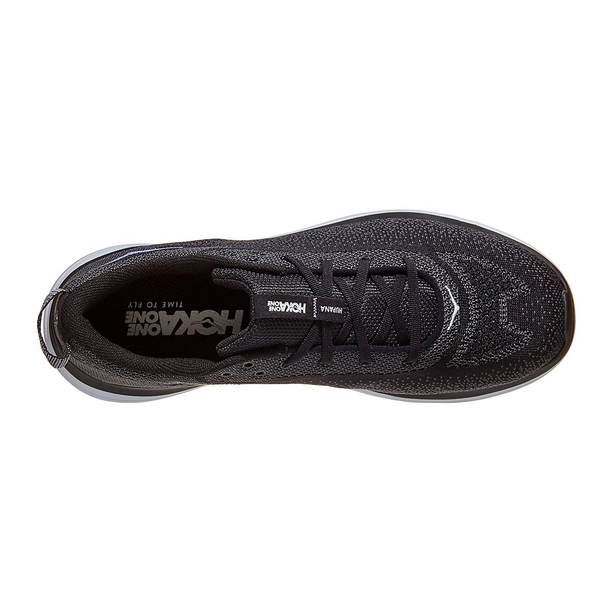Men's Hoka One One Hupana Flow Running Shoe - Color: Black/ Dark Shadow - Size: 7 - Width: Wide, Black/ Dark Shadow, large, image 3