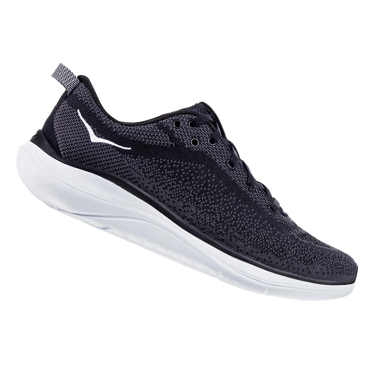 Women's Hoka One One Hupana Flow Running Shoe - Color: Black/ Dark Shadow - Size: 5 - Width: Wide, Black/ Dark Shadow, large, image 1