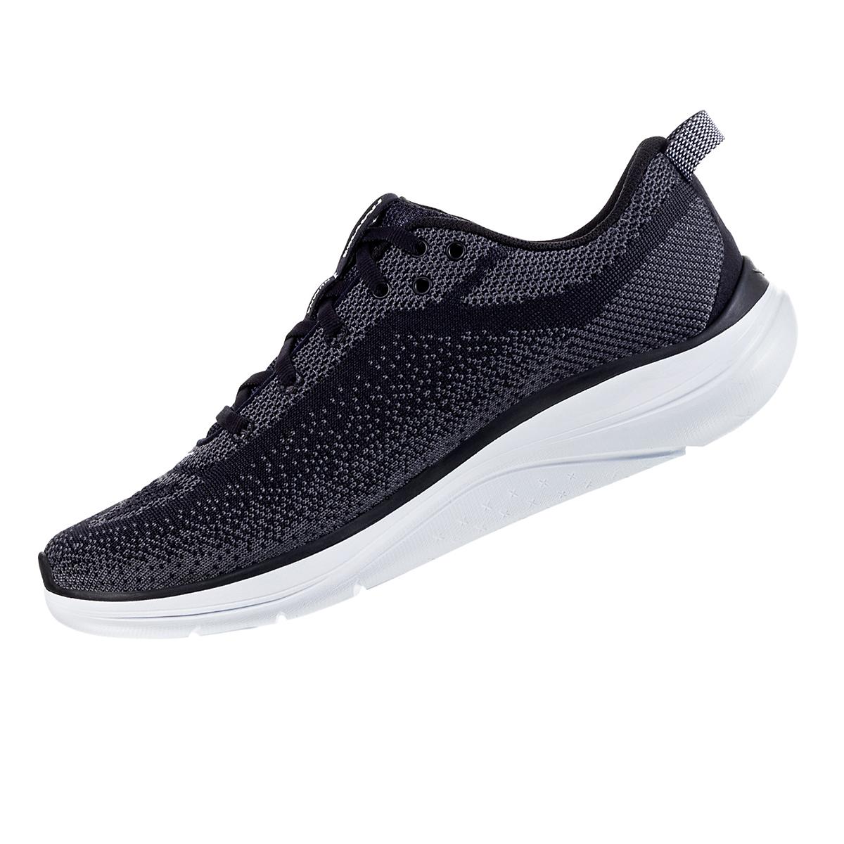 Women's Hoka One One Hupana Flow Running Shoe - Color: Black/ Dark Shadow - Size: 5 - Width: Wide, Black/ Dark Shadow, large, image 2