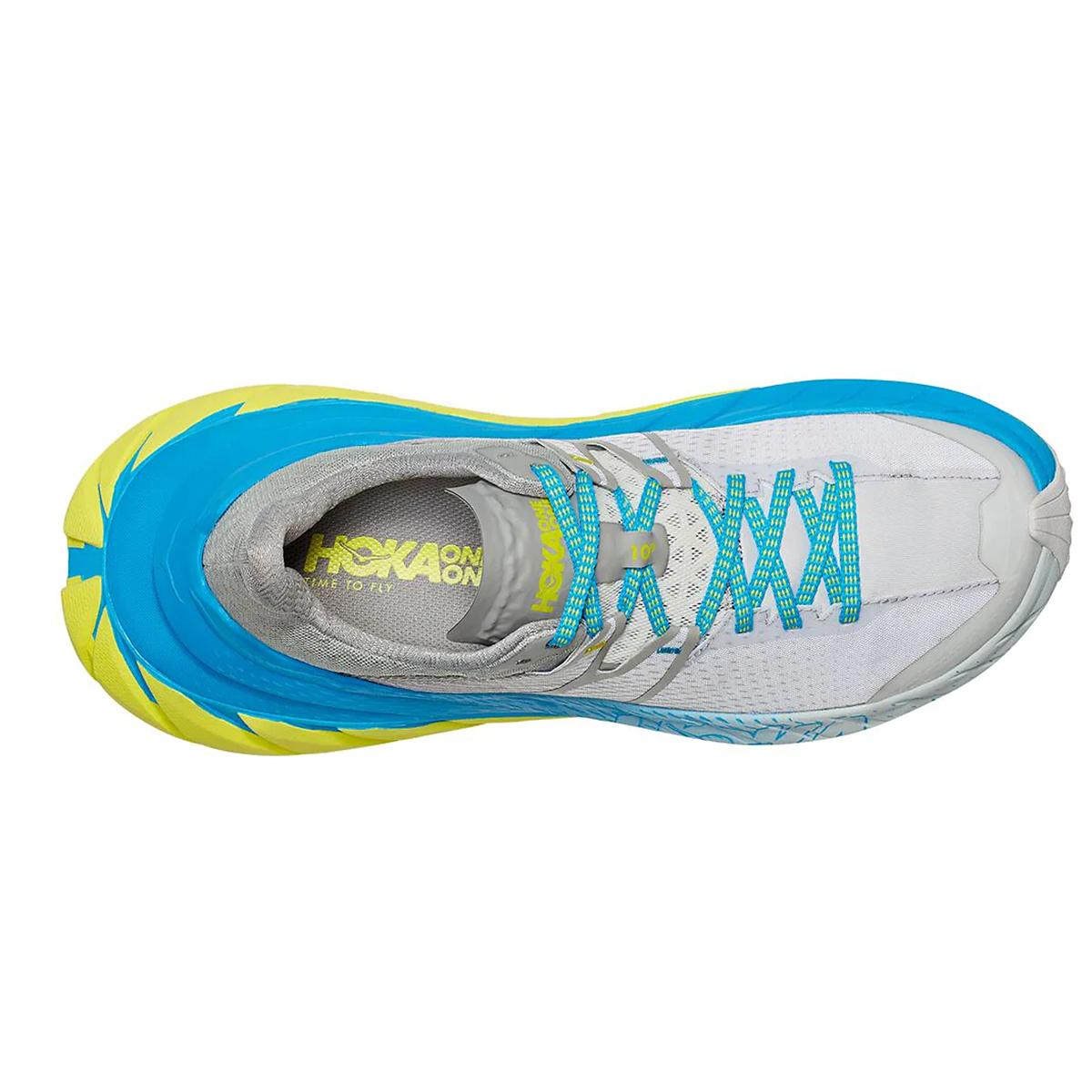 Men's Hoka One One Tennine Running Shoe - Color: Drizzle/Lunar Rock - Size: 8 - Width: Regular, Drizzle/Lunar Rock, large, image 3