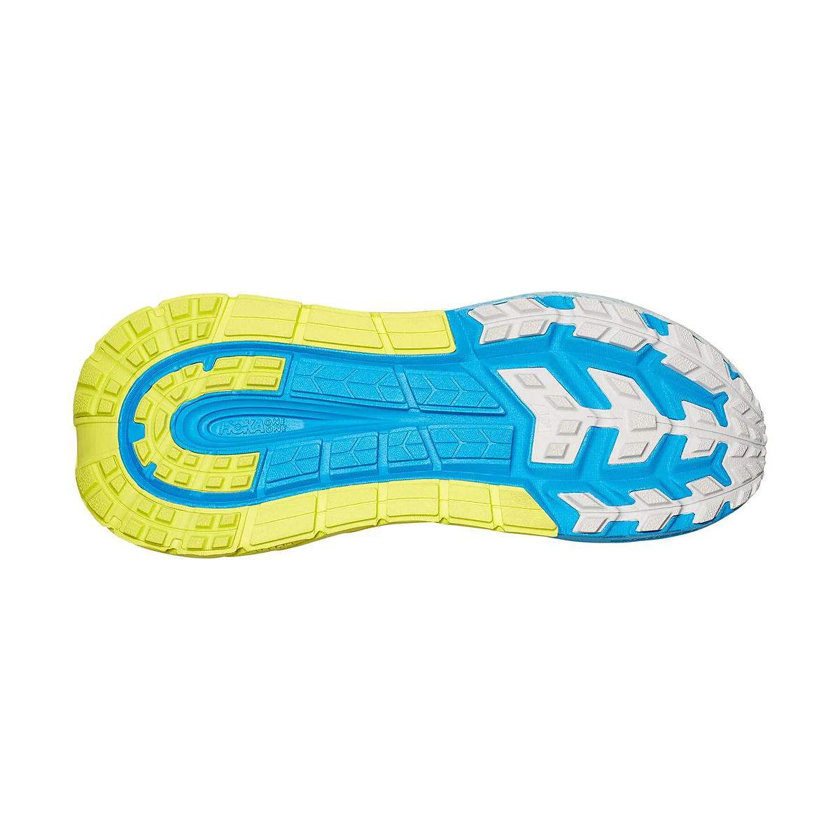 Men's Hoka One One Tennine Running Shoe - Color: Drizzle/Lunar Rock - Size: 8 - Width: Regular, Drizzle/Lunar Rock, large, image 4