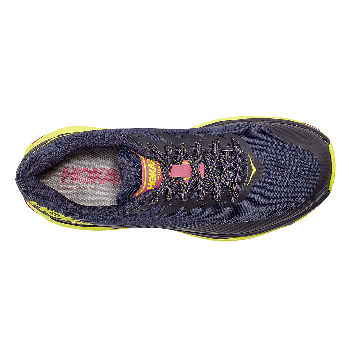 Women's Hoka One One Torrent 2 Trail Running Shoe - Color: Deep Well/Eve - Size: 5 - Width: Regular, Deep Well/Eve, large, image 3