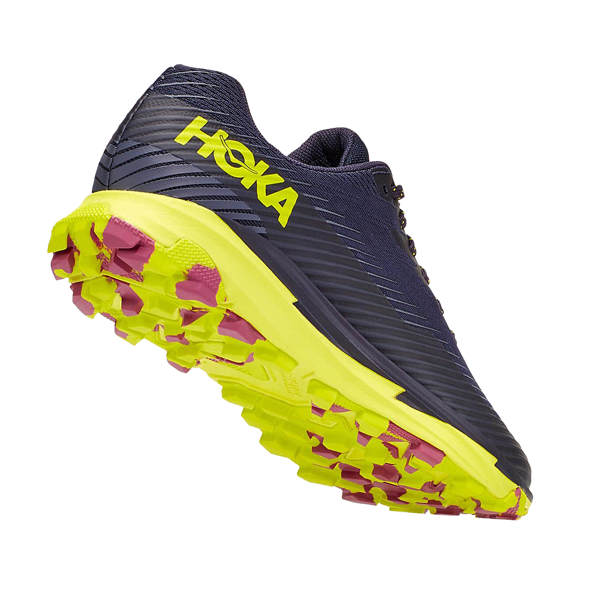 Women's Hoka One One Torrent 2 Trail Running Shoe - Color: Deep Well/Eve - Size: 5 - Width: Regular, Deep Well/Eve, large, image 4