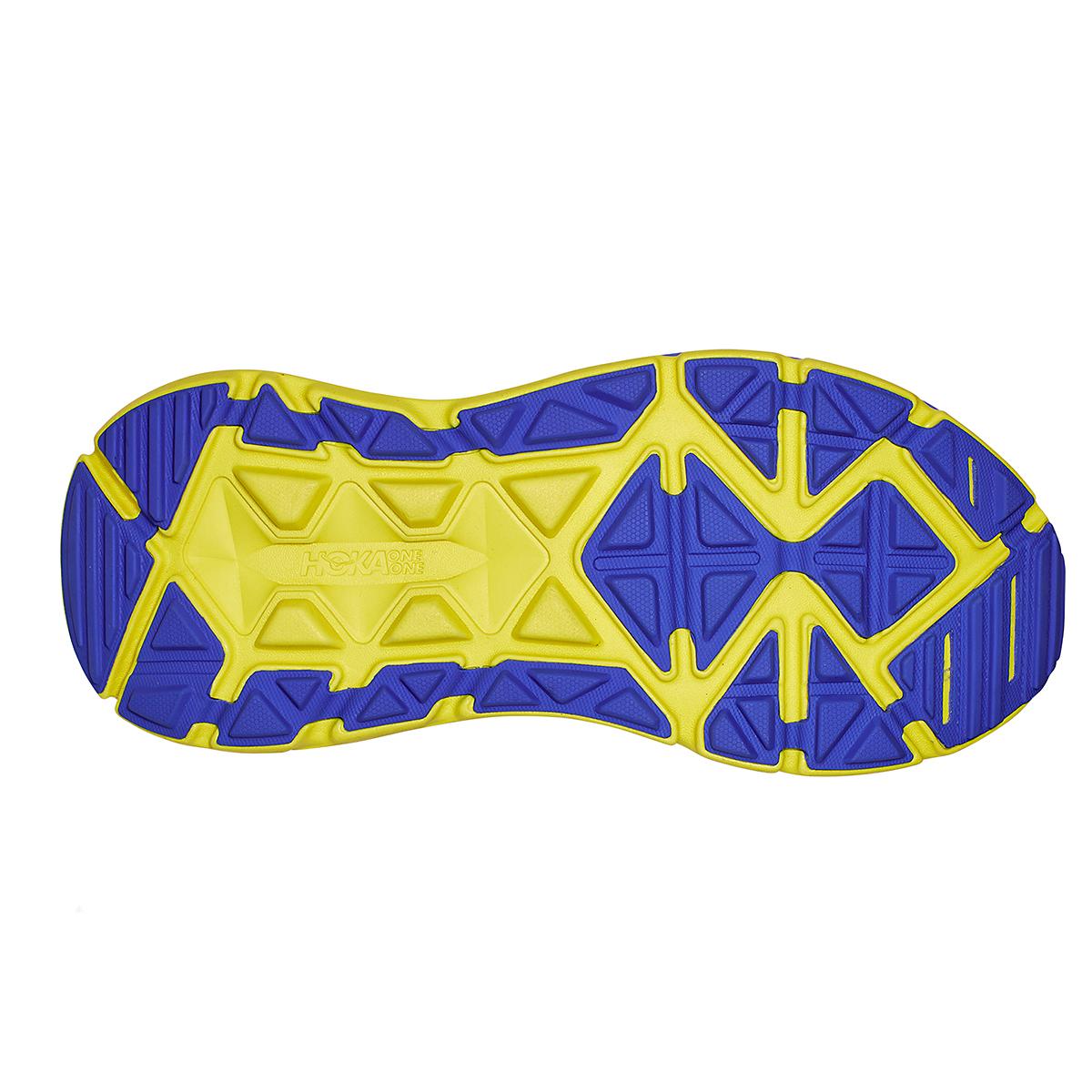 Men's Hoka One One Stinson Atr 6 Trail Running Shoe - Color: Black Iris/Evening Primrose - Size: 7 - Width: Regular, Black Iris/Evening Primrose, large, image 3
