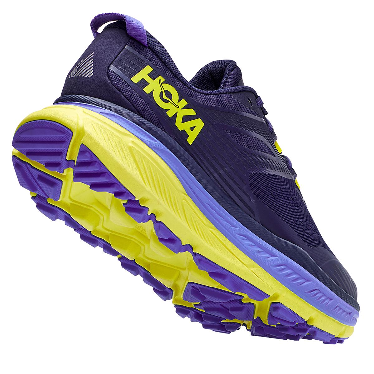 Men's Hoka One One Stinson Atr 6 Trail Running Shoe - Color: Black Iris/Evening Primrose - Size: 7 - Width: Regular, Black Iris/Evening Primrose, large, image 5