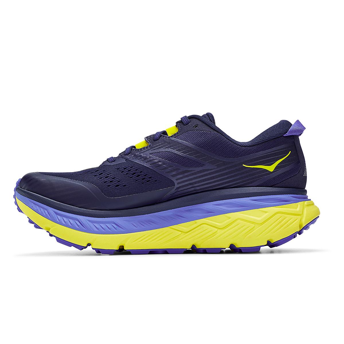 Men's Hoka One One Stinson Atr 6 Trail Running Shoe - Color: Black Iris/Evening Primrose - Size: 7 - Width: Regular, Black Iris/Evening Primrose, large, image 6