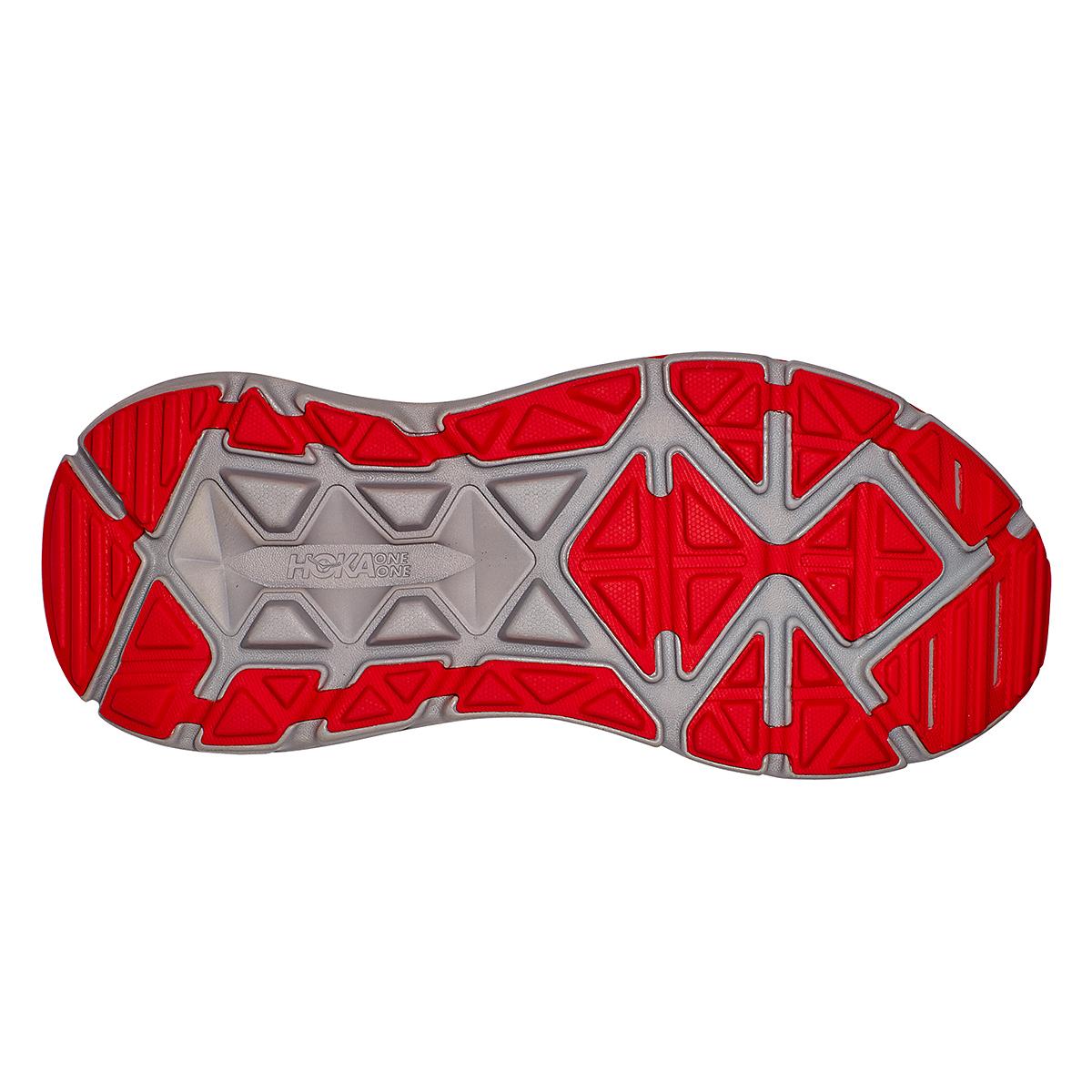 Men's Hoka One One Stinson Atr 6 Trail Running Shoe - Color: Dark Blue/High Risk Red - Size: 7 - Width: Regular, Dark Blue/High Risk Red, large, image 3