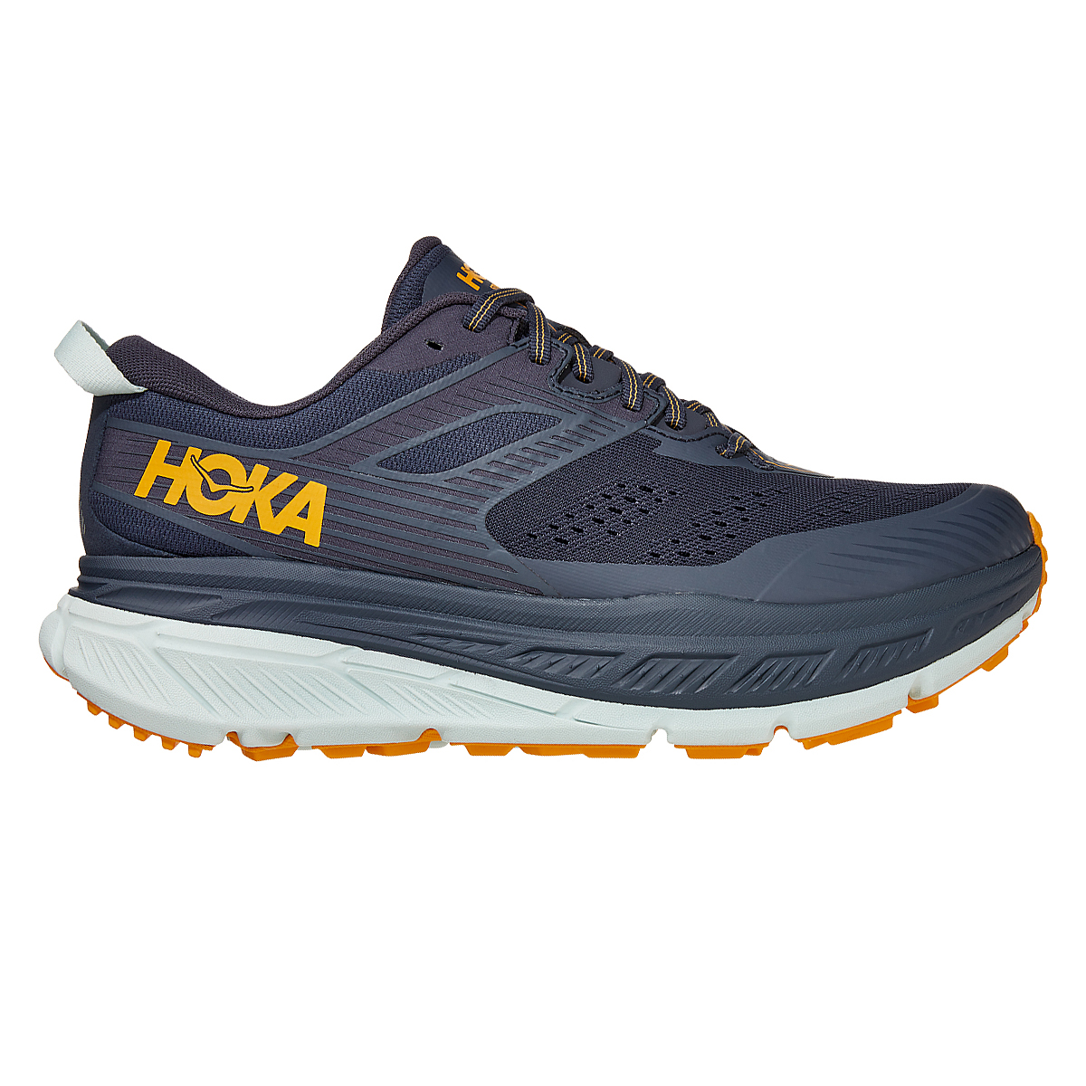 Men's Hoka One One Stinson Atr 6 Trail Running Shoe - Color: Ombre Blue - Size: 7 - Width: Regular, Ombre Blue, large, image 1
