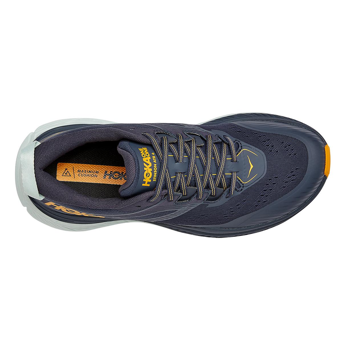 Men's Hoka One One Stinson Atr 6 Trail Running Shoe - Color: Ombre Blue - Size: 7 - Width: Regular, Ombre Blue, large, image 2
