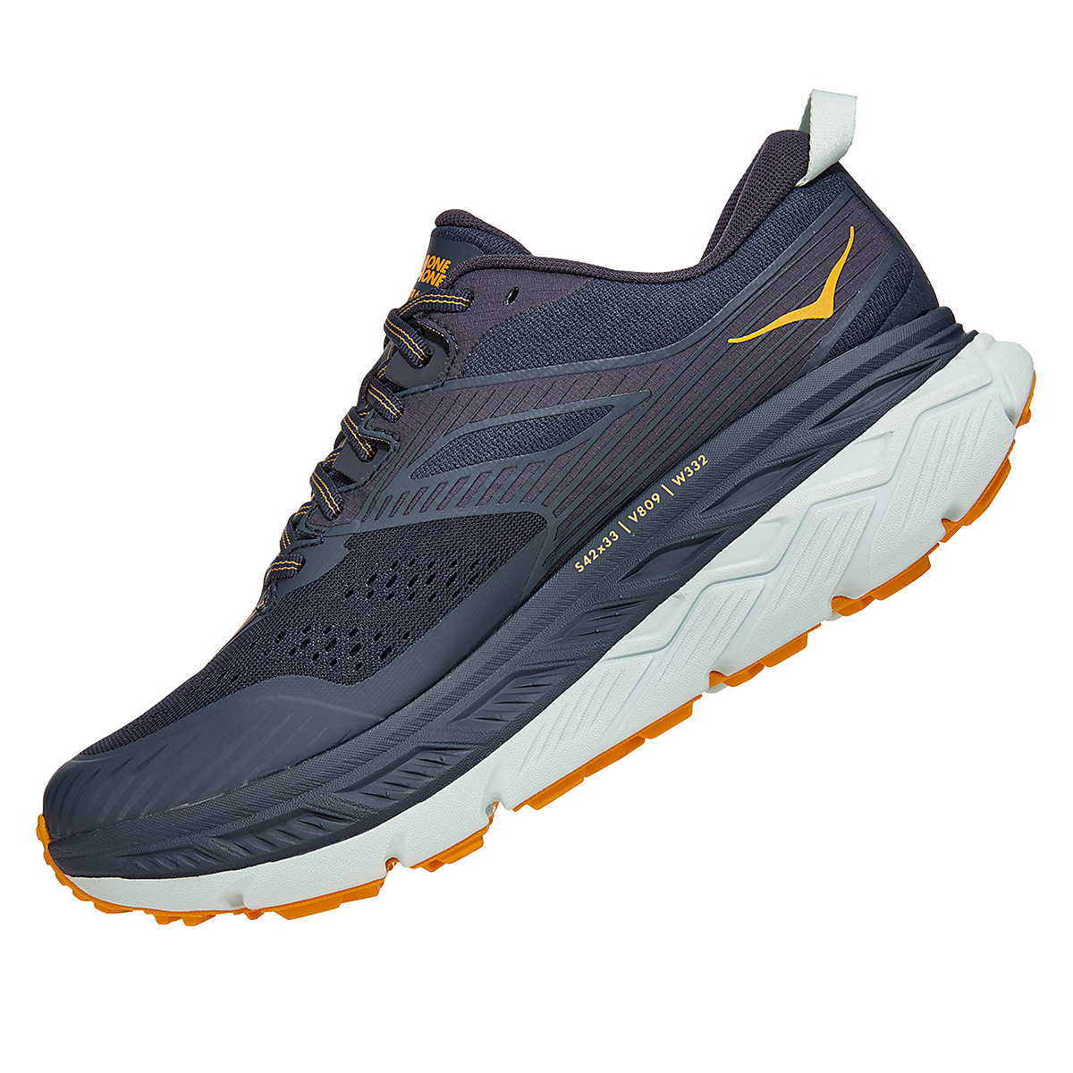 Men's Hoka One One Stinson Atr 6 Trail Running Shoe - Color: Ombre Blue - Size: 7 - Width: Regular, Ombre Blue, large, image 4