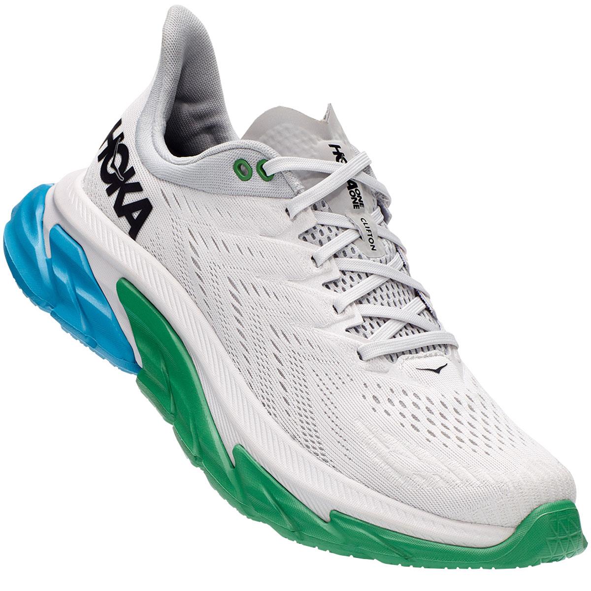 Men's Hoka One One Clifton Edge Running Shoe - Color: Nimbus Cloud - Size: 7 - Width: Regular, Nimbus Cloud, large, image 4