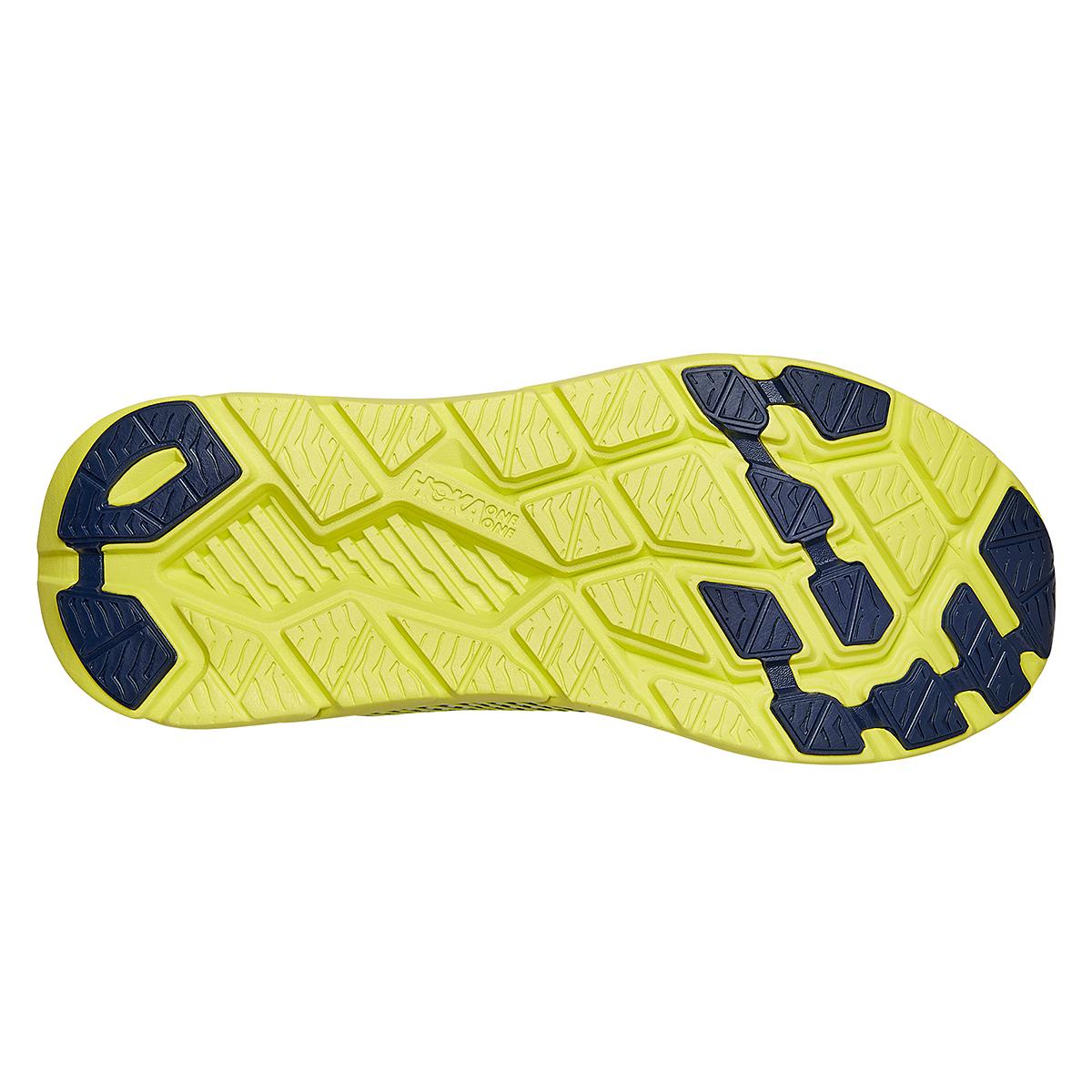 Men's Hoka One One Rincon 2 Running Shoe - Color: White/Yellow - Size: 7 - Width: Regular, White/Yellow, large, image 4