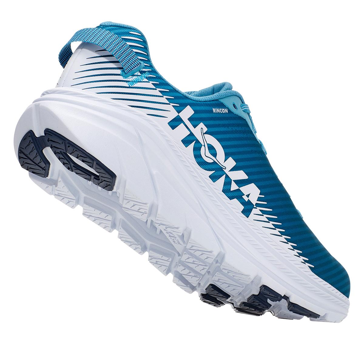 Men's Hoka One One Rincon 2 Running Shoe - Color: Blue Moon/White - Size: 7 - Width: Regular, Blue Moon/White, large, image 5
