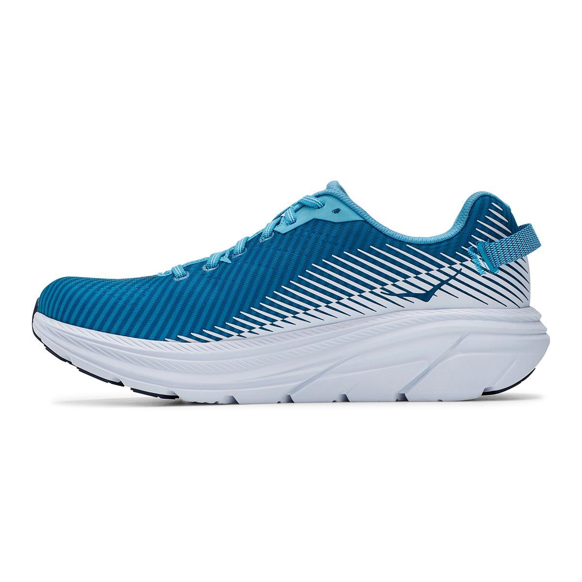 Men's Hoka One One Rincon 2 Running Shoe - Color: Blue Moon/White - Size: 7 - Width: Regular, Blue Moon/White, large, image 6