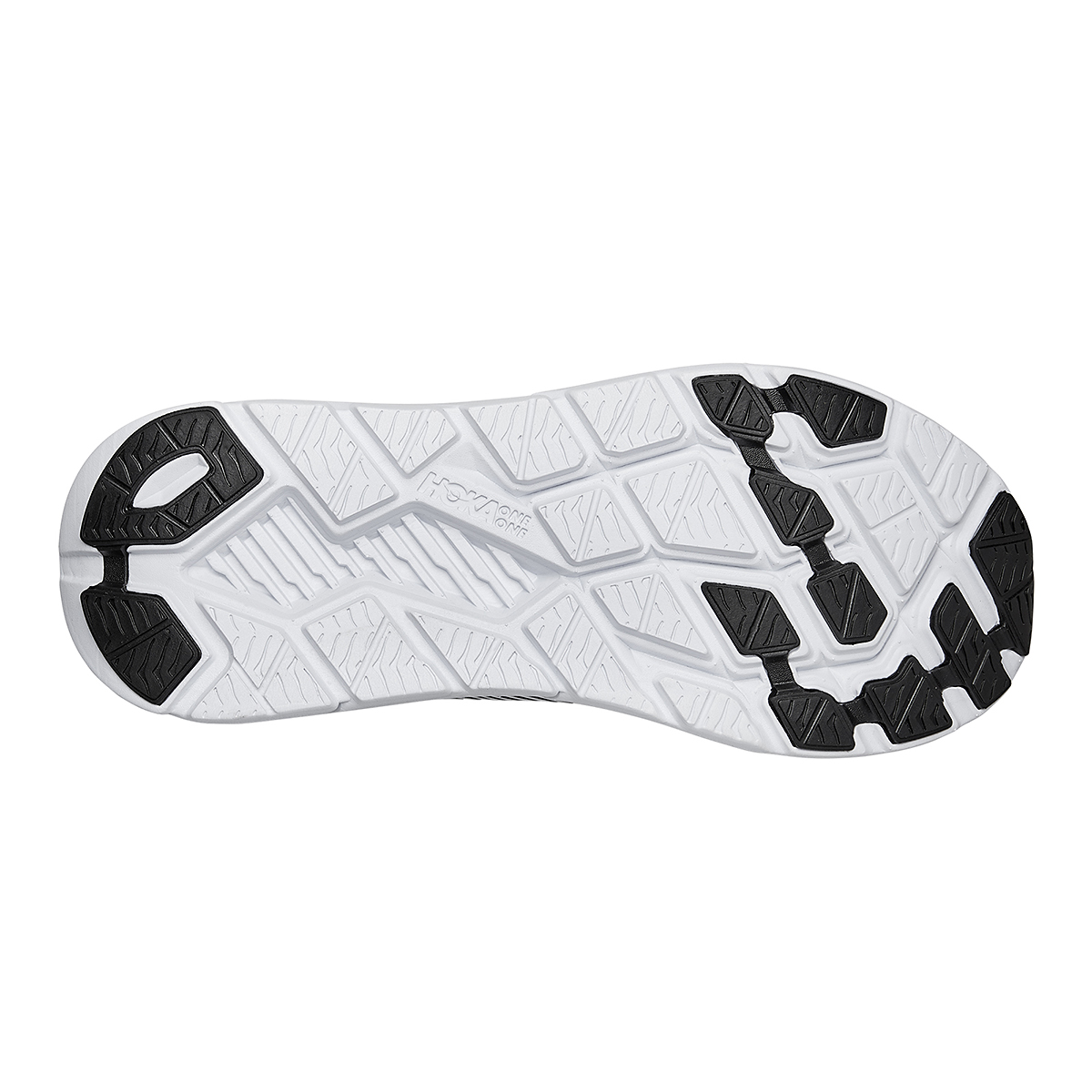 Men's Hoka One One Rincon 2 Running Shoe - Color: Black/White - Size: 8 - Width: Regular, Black/White, large, image 6