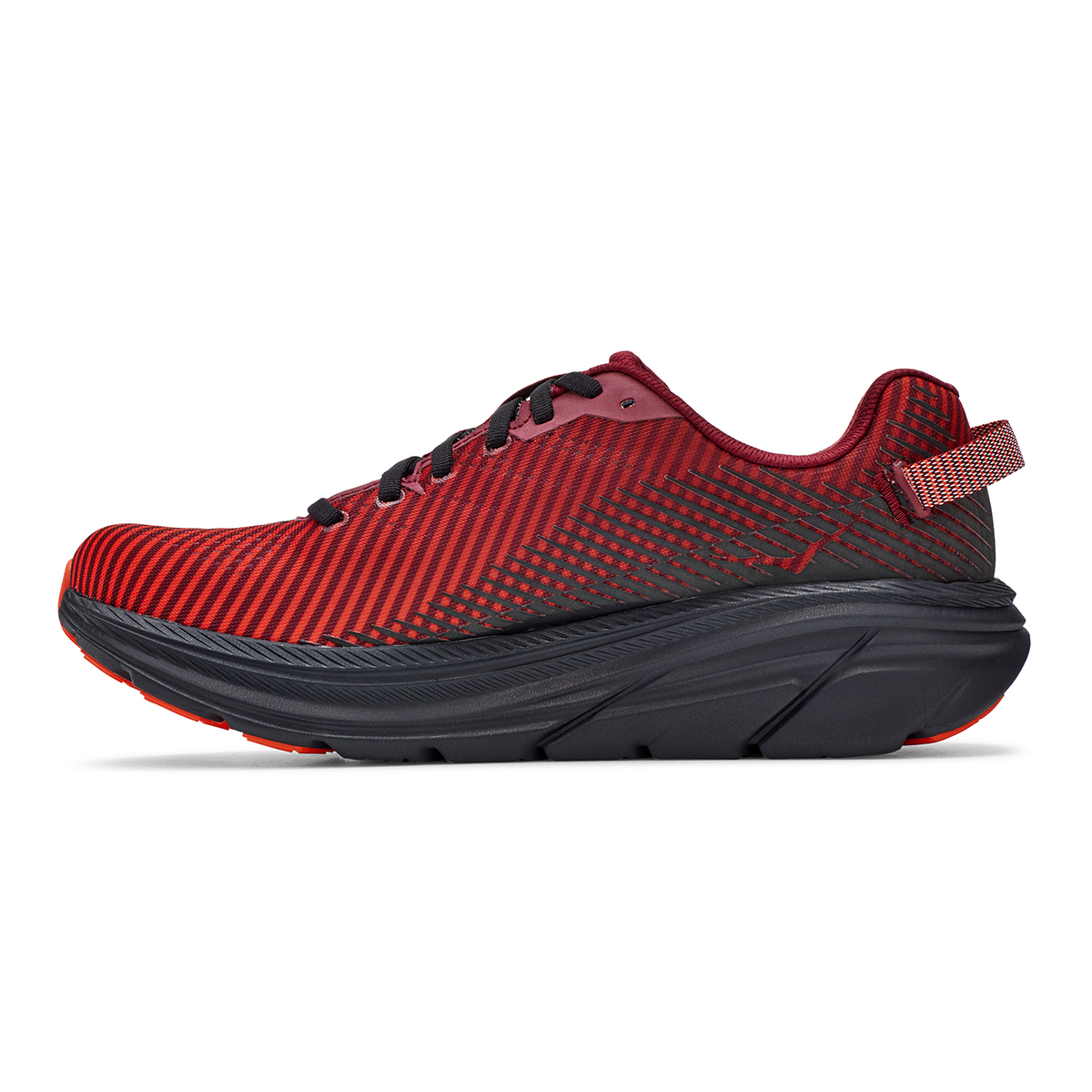 Men's Hoka One One Rincon 2 Running Shoe - Color: Cordovan/Anthracite - Size: 7 - Width: Regular, Cordovan/Anthracite, large, image 6