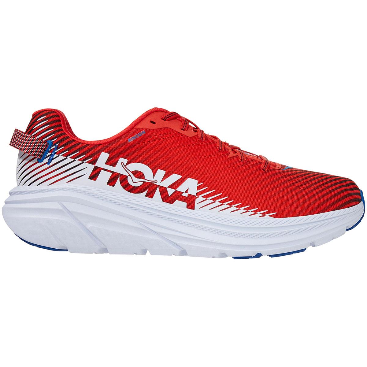 Men's Hoka One One Rincon 2 Running Shoe - Color: Fiesta/Turkish White - Size: 7 - Width: Regular, Fiesta/Turkish White, large, image 1