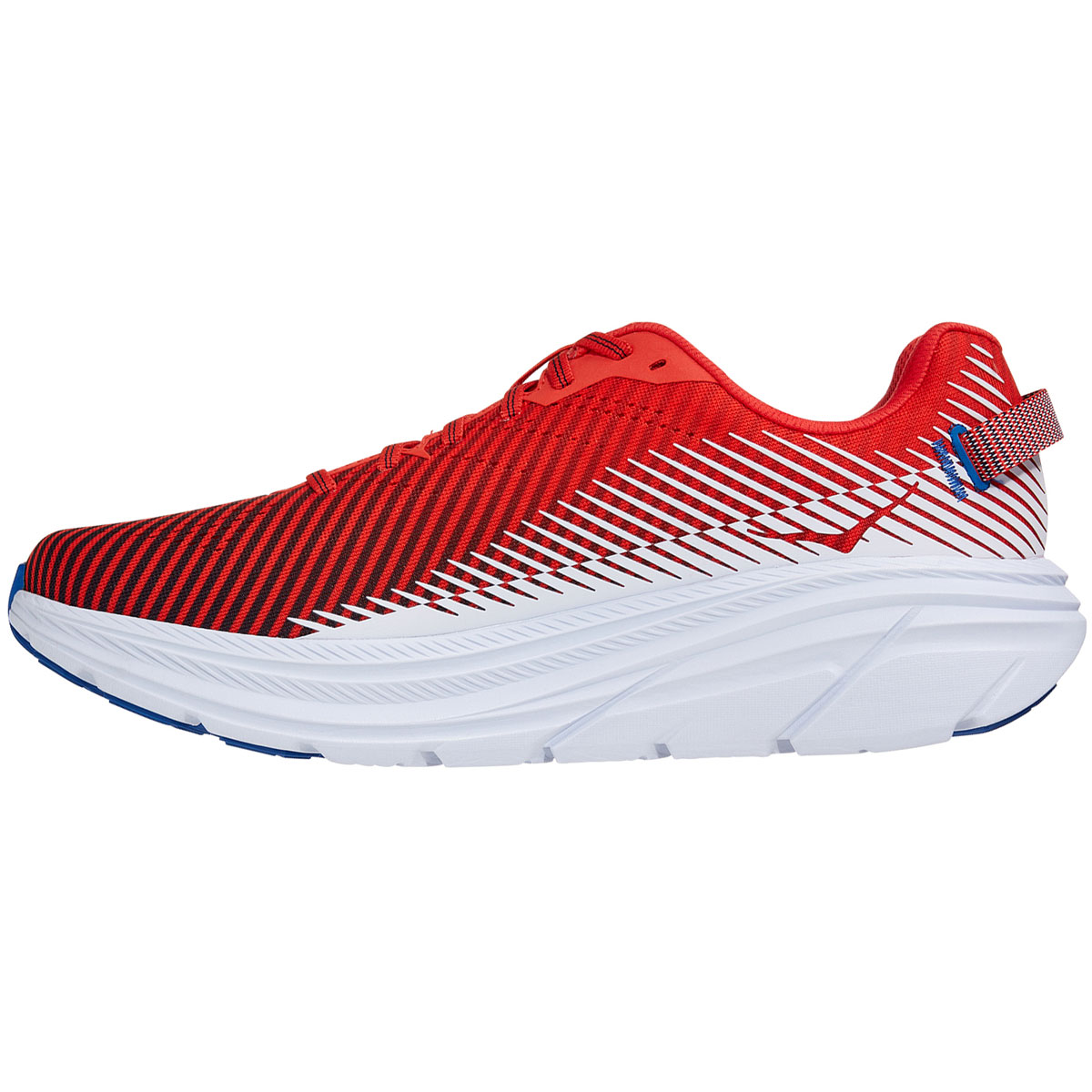 Men's Hoka One One Rincon 2 Running Shoe - Color: Fiesta/Turkish White - Size: 7 - Width: Regular, Fiesta/Turkish White, large, image 2