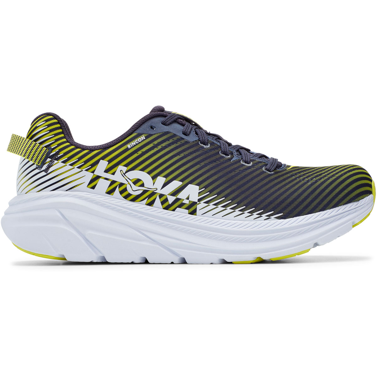 Men's Hoka One One Rincon 2 Running Shoe - Color: Odyssey Grey - Size: 10 - Width: Regular, Odyssey Grey, large, image 1