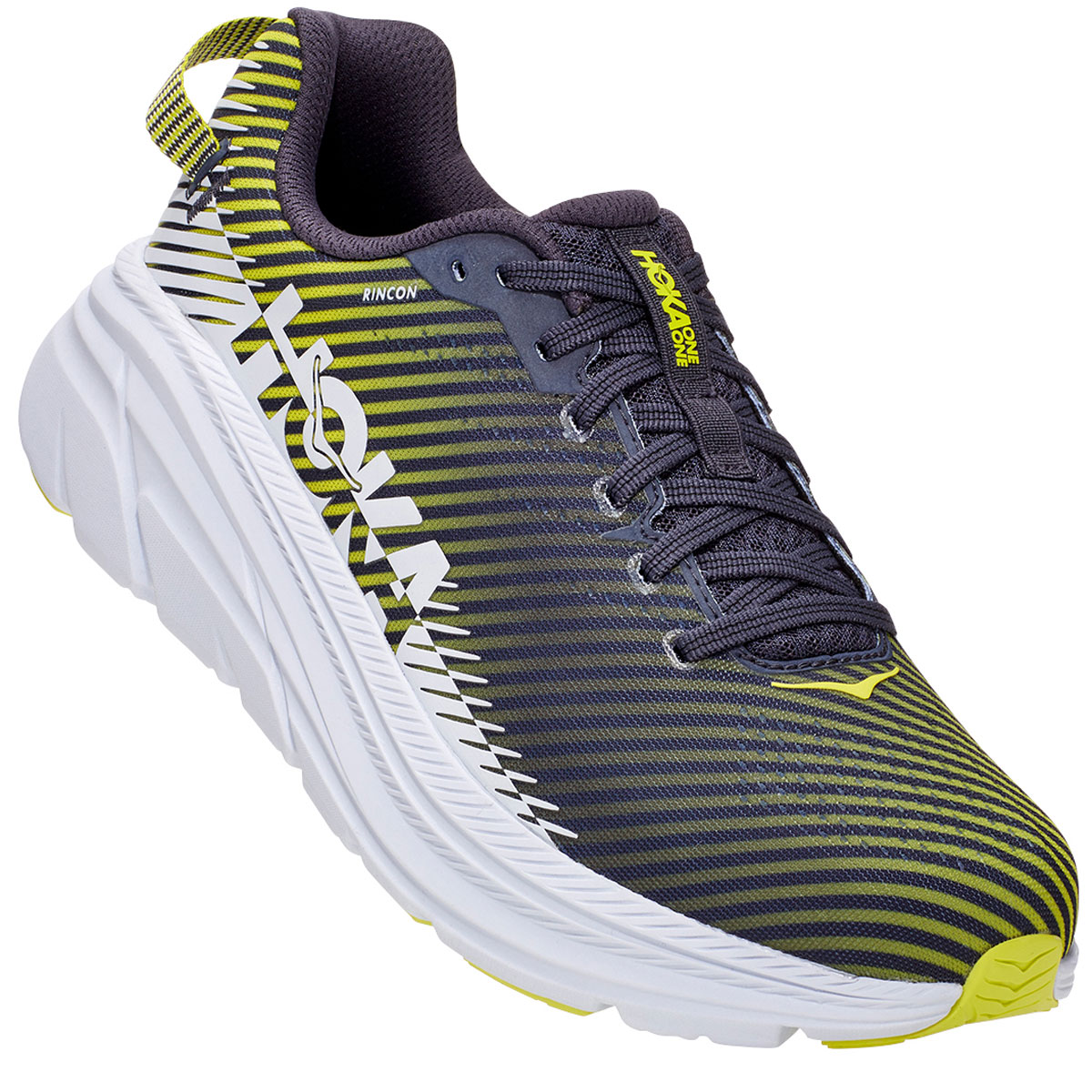 Men's Hoka One One Rincon 2 Running Shoe - Color: Odyssey Grey - Size: 10 - Width: Regular, Odyssey Grey, large, image 4