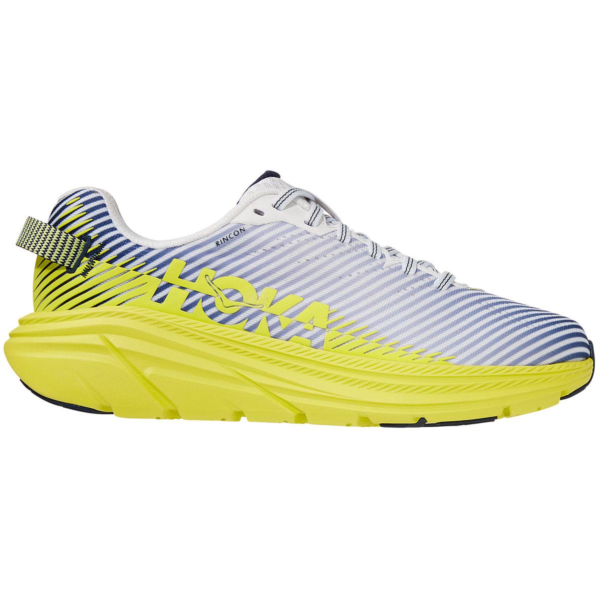 Women's Hoka One One Rincon 2 Running Shoe - Color: Blanc De Blanc - Size: 5.5 - Width: Regular, Blanc De Blanc, large, image 1