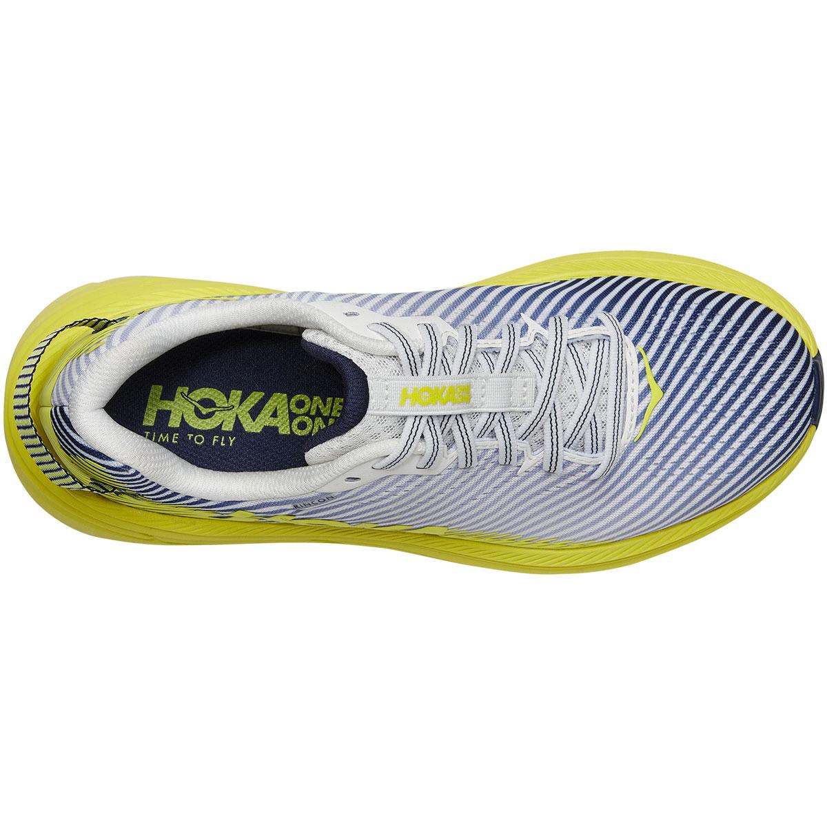 Women's Hoka One One Rincon 2 Running Shoe - Color: Blanc De Blanc - Size: 5.5 - Width: Regular, Blanc De Blanc, large, image 5