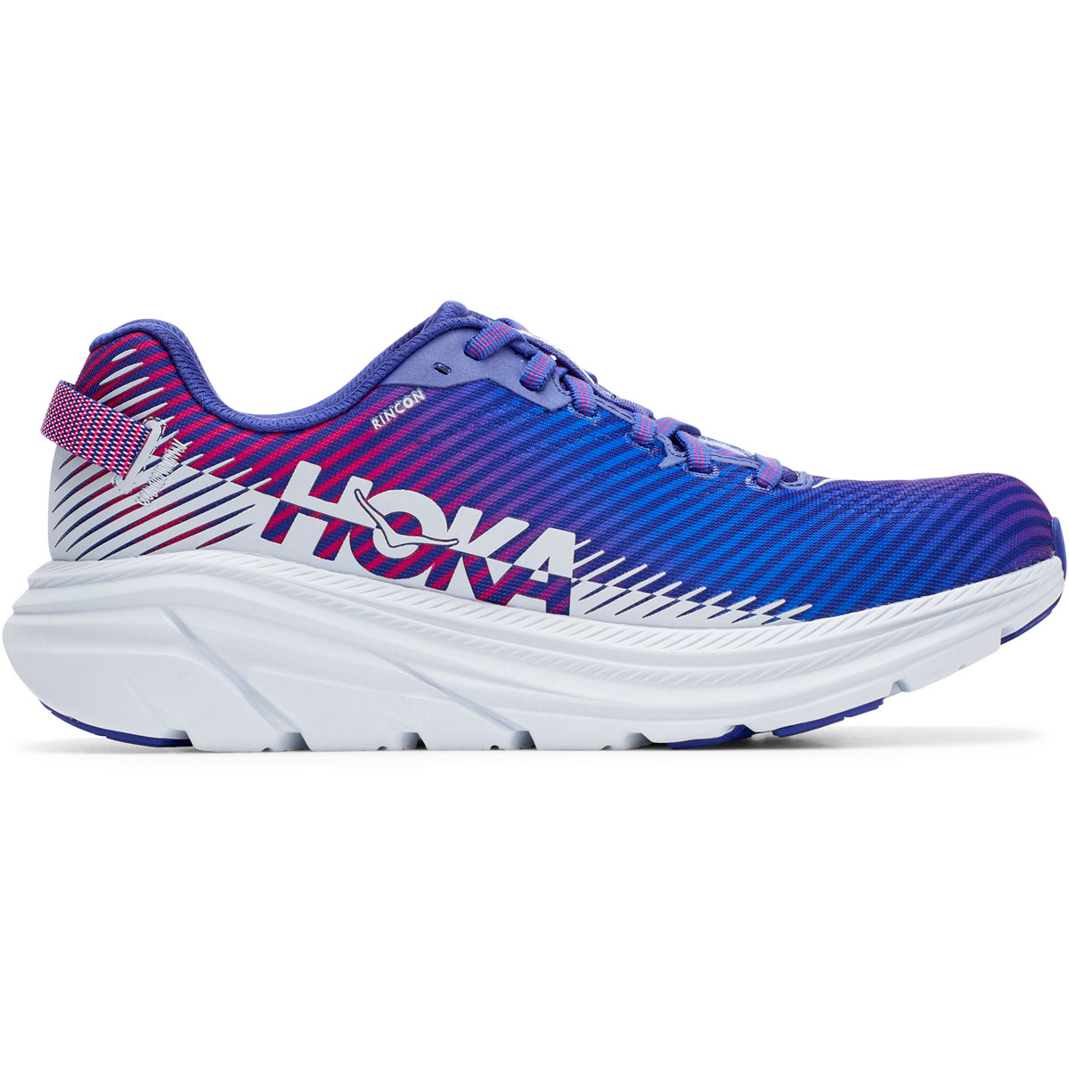 Women's Hoka One One Rincon 2 Running Shoe - Color: Clematis Blue - Size: 5 - Width: Regular, Clematis Blue, large, image 1