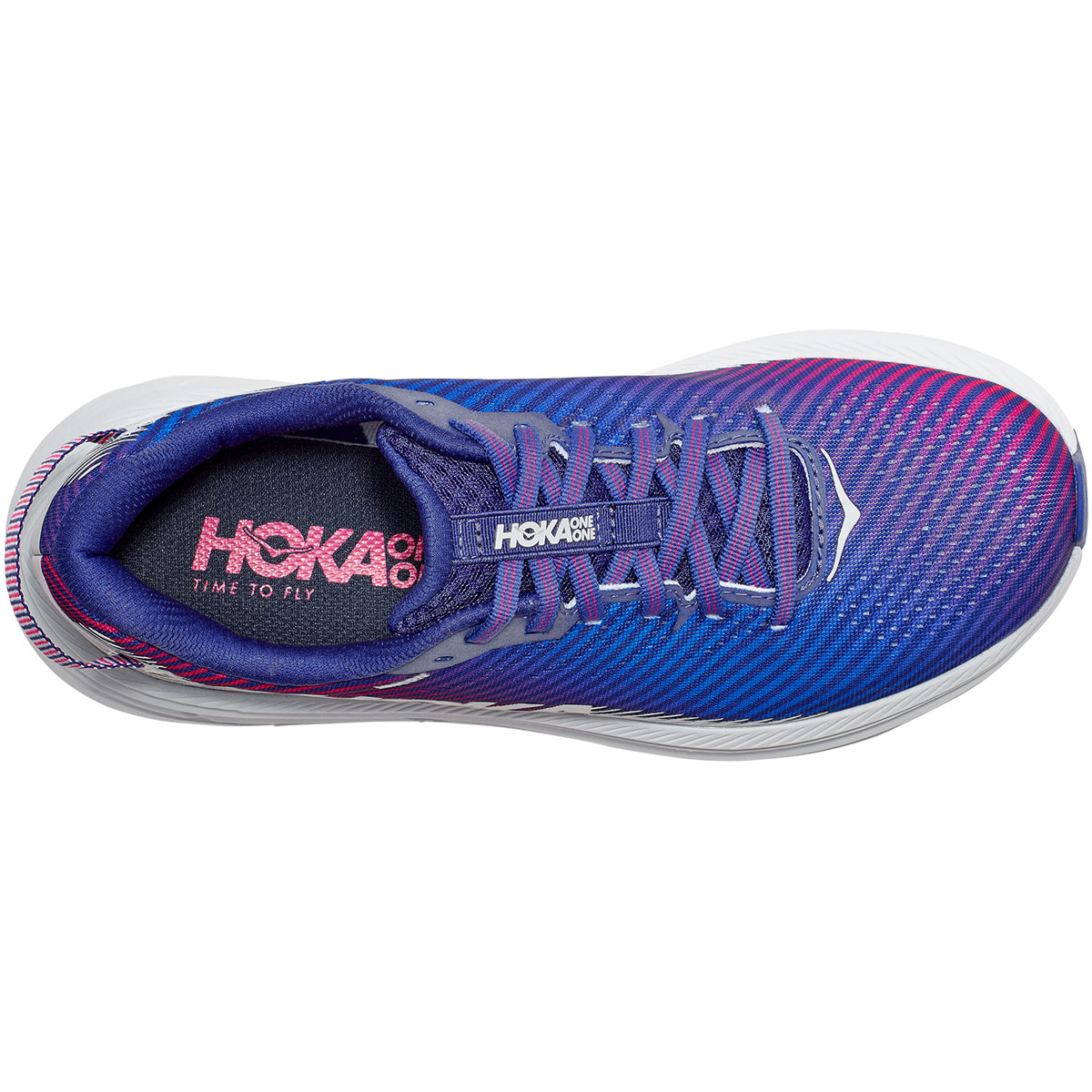 Women's Hoka One One Rincon 2 Running Shoe - Color: Clematis Blue - Size: 5 - Width: Regular, Clematis Blue, large, image 2