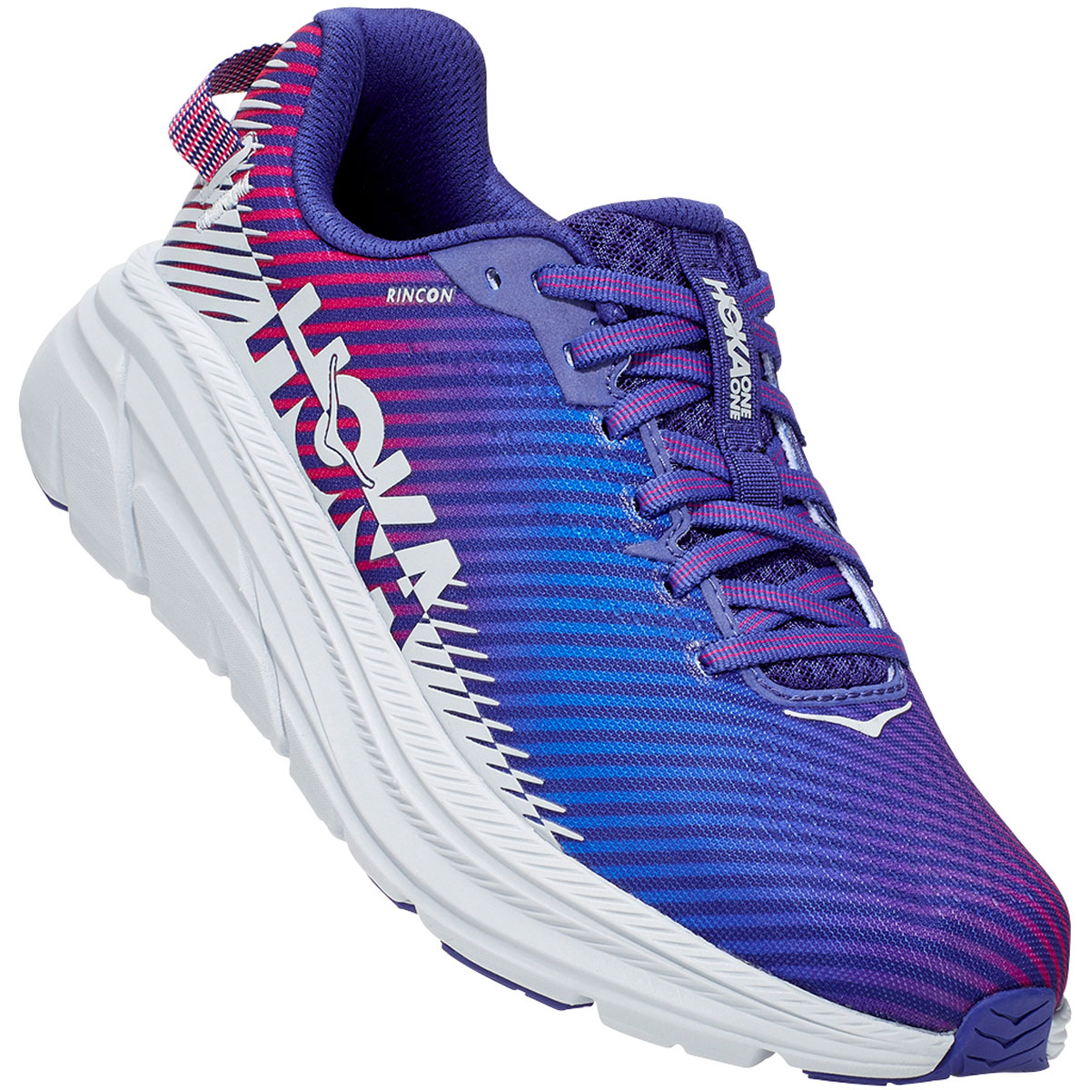 Women's Hoka One One Rincon 2 Running Shoe - Color: Clematis Blue - Size: 5 - Width: Regular, Clematis Blue, large, image 4