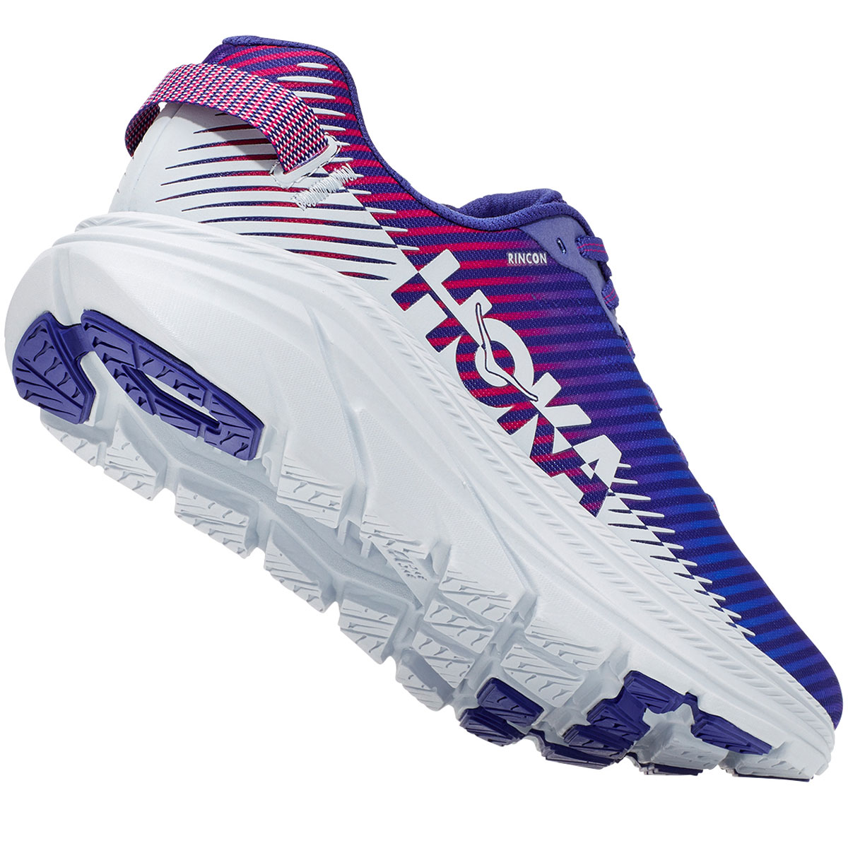 Women's Hoka One One Rincon 2 Running Shoe - Color: Clematis Blue - Size: 5 - Width: Regular, Clematis Blue, large, image 5
